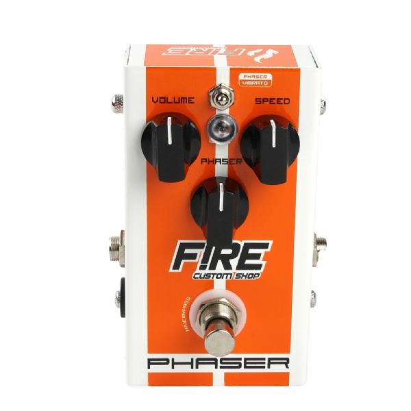 Pedal para Baixo / Guitarra Fire Phaser Vibrato