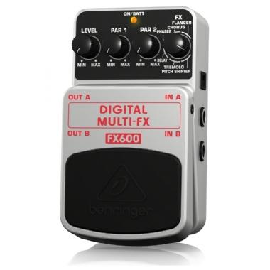 Pedal para Guitarra Behringer Digital Multi-FX FX600
