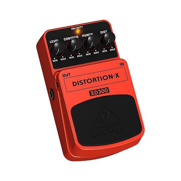 Pedal para Guitarra Behringer Distortion-X XD300