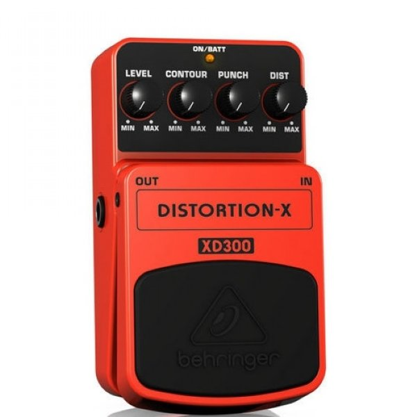 Pedal para Guitarra Behringer Distortion X XD300