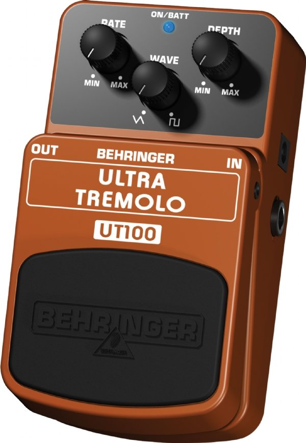 Pedal para Guitarra Behringer Ultra Tremolo UT100