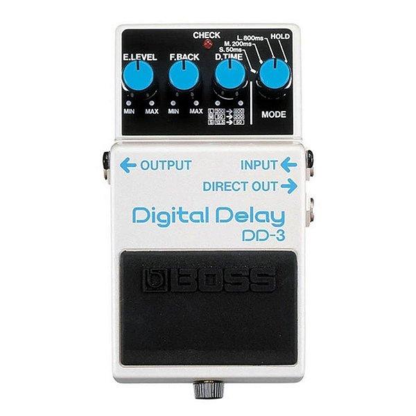 Pedal para Guitarra Boss Digital Delay DD3
