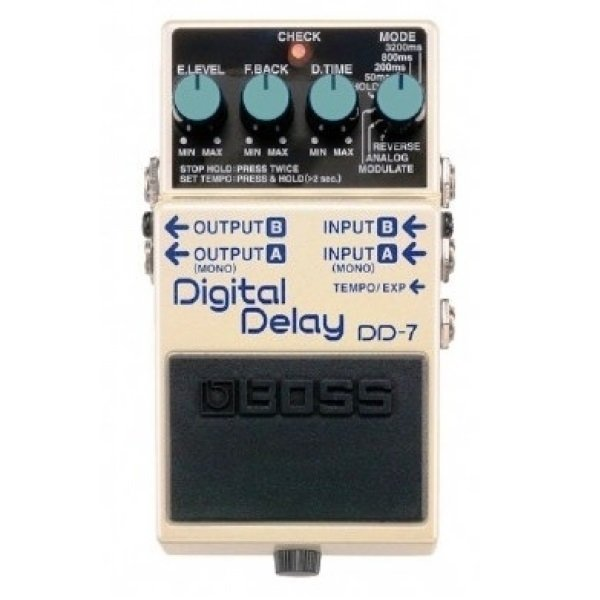 Pedal para Guitarra Boss Digital Delay DD7