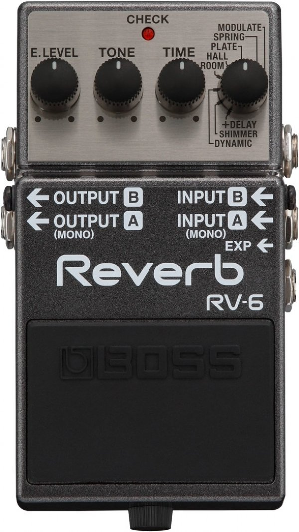 Pedal para Guitarra Boss Digital Reverb RV-6