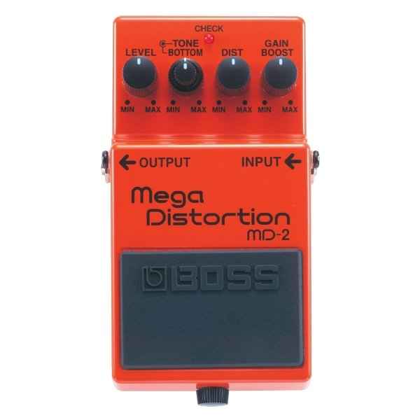 Pedal para Guitarra Boss Mega Distortion MD2
