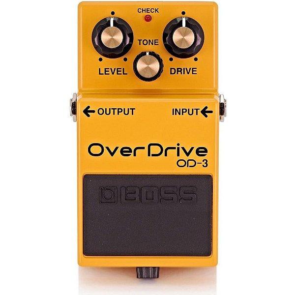 Pedal para Guitarra Boss Overdrive Distortion OD-3