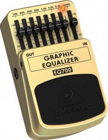 Pedal para Guitarra Equalizer Behringer EQ700