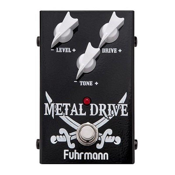 Pedal para Guitarra Fuhrmann Metal Drive