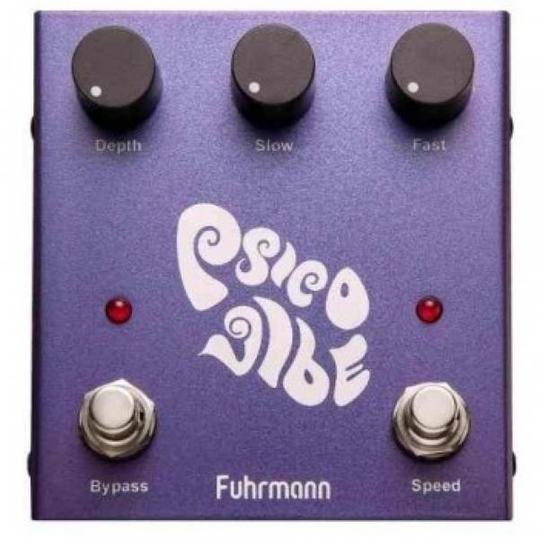 Pedal para Guitarra Fuhrmann PV-01 Psico Vibe