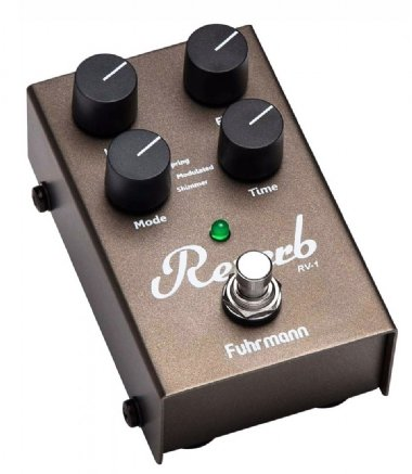Pedal para Guitarra Fuhrmann Reverb RV-1