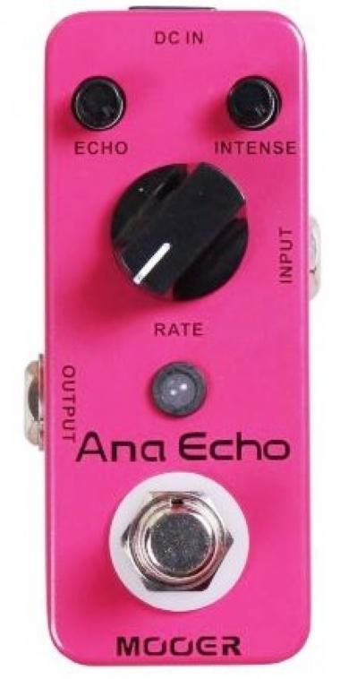 Pedal para Guitarra Mooer Ana Echo Analog Delay MAEAD