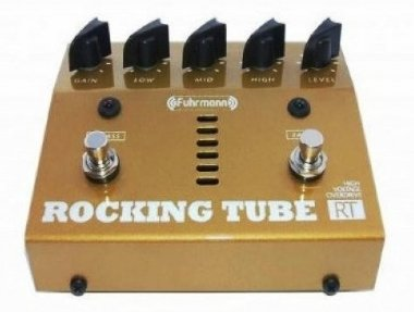 Pedal para Guitarra Valvulado Fuhrmann Rocking Tube RT01