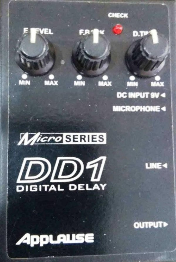 Pedal para Guitarra Voz Digital Delay Applause DD1