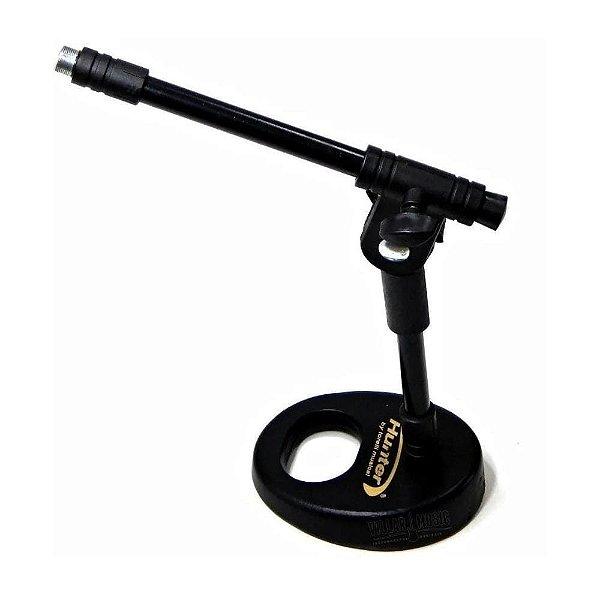 Pedestal de Mesa para Microfone Hunter HPM56
