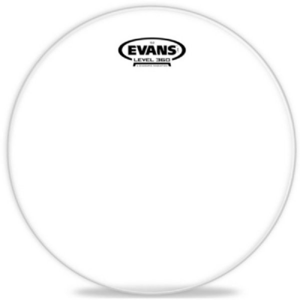 "Pele 12"" Evans Clear Transparente TT12G2"