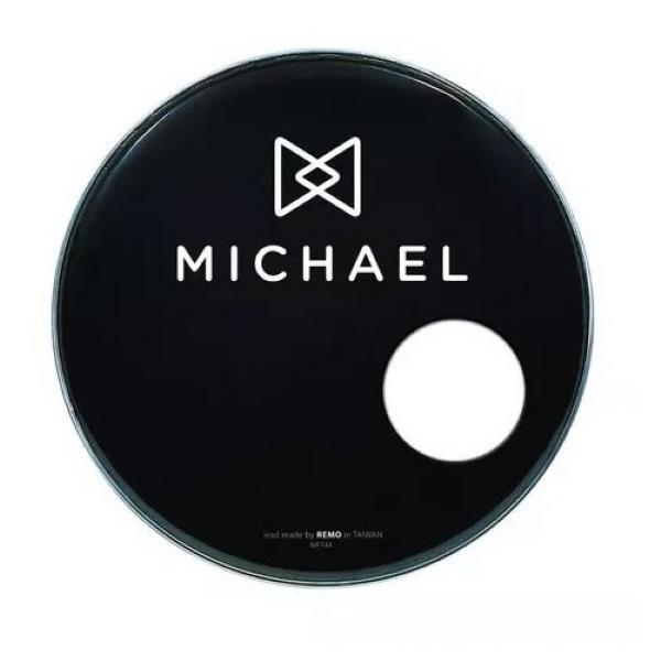 """Pele 22"""" Resposta Michael NPSM22 Preta"""