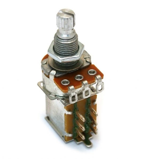 Potenciômetro Push Pull Strinberg 250KB L20 P25020P