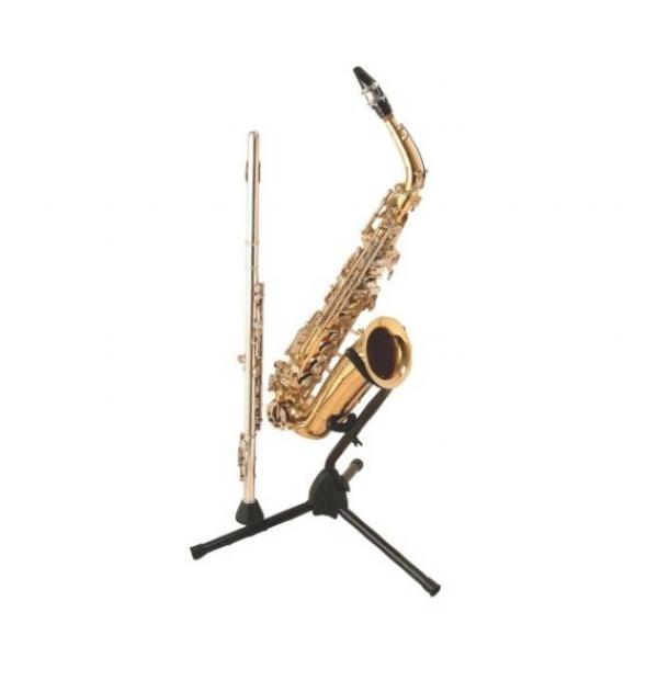 Suporte Sax Alto / Tenor com Haste para Flauta On-Stage SXS7101B