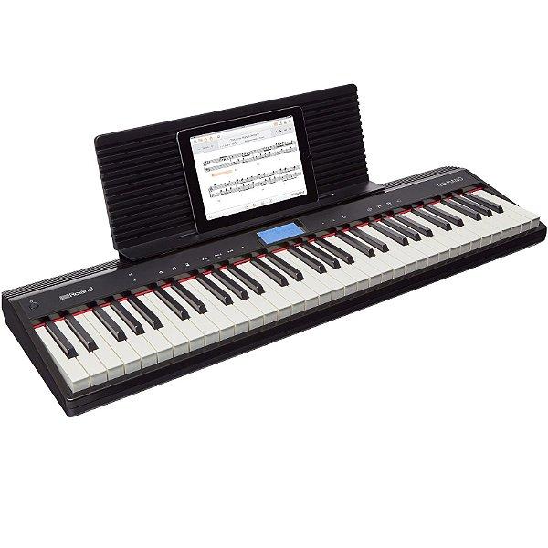 Teclado 61 Teclas Roland Go Piano GO-61P 5/8