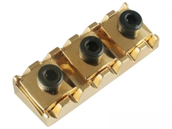 Trava Guitarra Micro Afinação Strinberg Dourada PL001