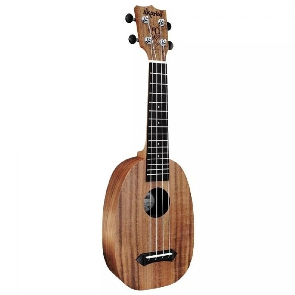 Ukulelê Acústico Akahai Ronsani Concerto Pineapple KP23 Natural