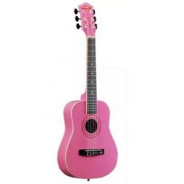 Violão Infantil Acústico Nylon Tagima Kids V2 Pink