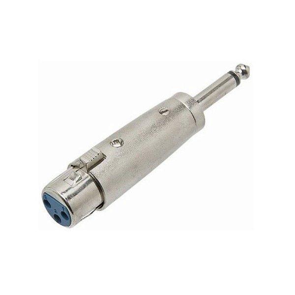 Plug Adaptador Canon Fêmea / P10 Macho Zad Som
