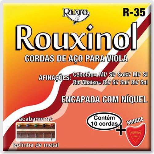 Encordoamento Viola Caipira .011 Rouxinol Máxima R35