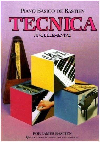 Método Piano Básico de Bastien Técnica - Nível Elemental