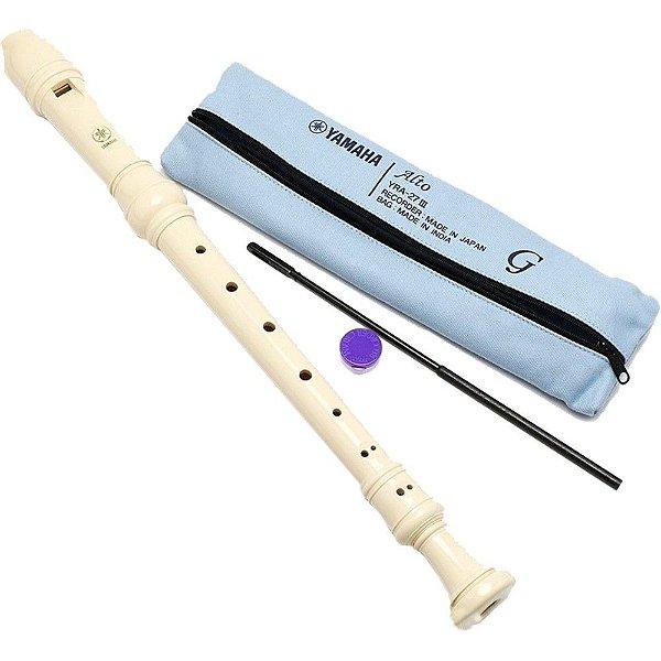 Flauta Doce Contralto Yamaha Barroca YRA 28B III