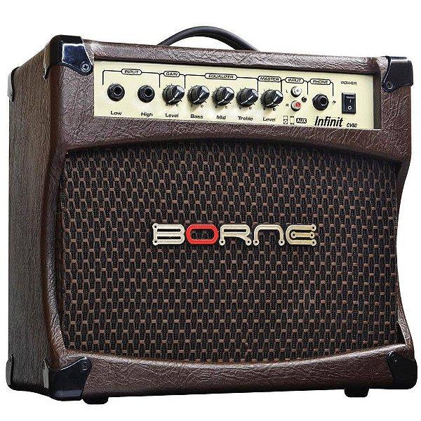 Amplificador Violão Borne Infinit CV80 30W