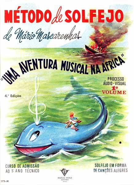 Método de Solfejo Uma Aventura Musical Mário Mascarenhas