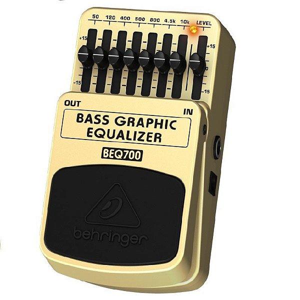 Pedal para Baixo Behringer Grafic Equalizer BEQ700