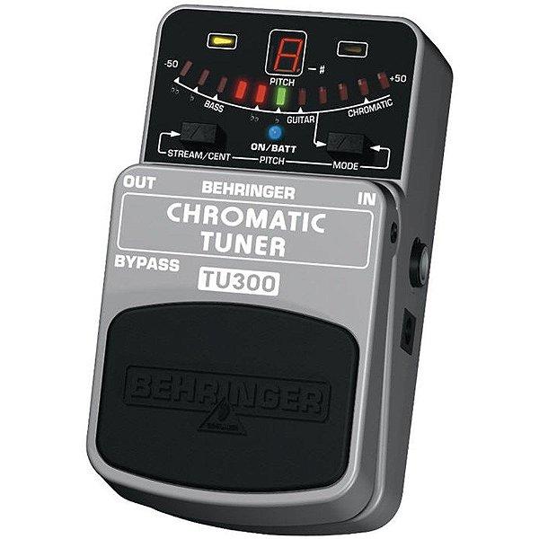 Pedal para Baixo / Guitarra Behringer Chromatic Tuner TU300