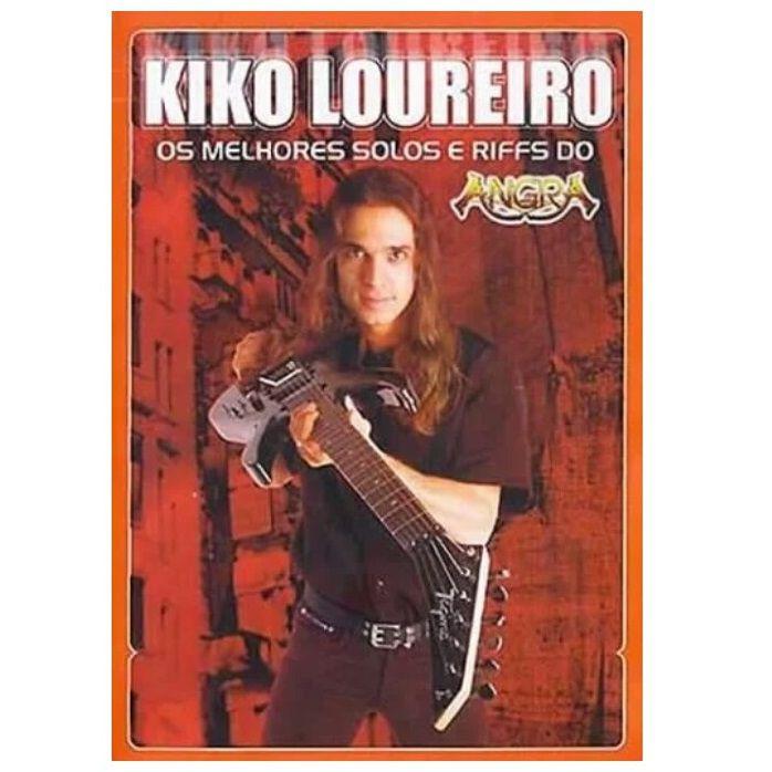 DVD Os Melhores Solos e Riffs do Angra Kiko Loureiro
