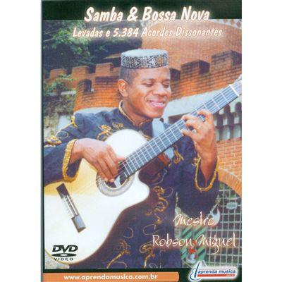 DVD Samba e Bossa Nova Mestre Robson Miguel