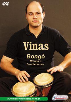 DVD Bongô Ritmos e Fundamentos Vinas