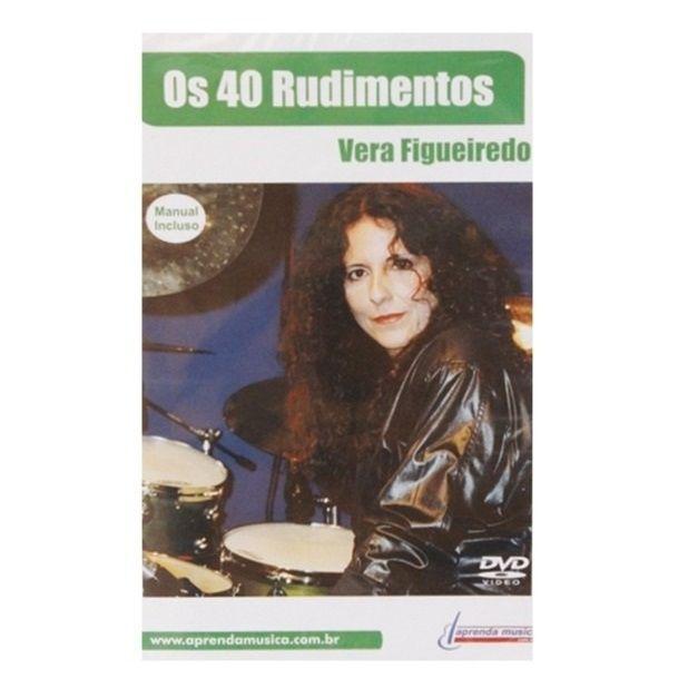 DVD Os 40 Rudimentos Vera Figueiredo