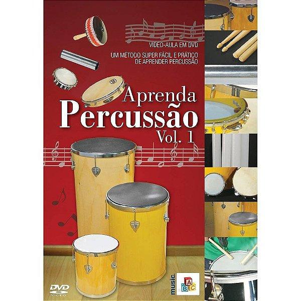 DVD Aprenda Percussão Vol. 1