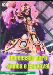 DVD Percussão para Samba e Carnaval Edson Quesada