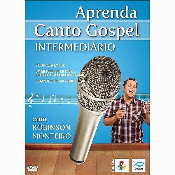 DVD Aprenda Canto Gospel Intermediário