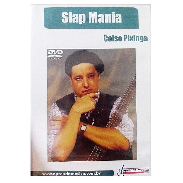 DVD Slap Mania Celso Pixinga