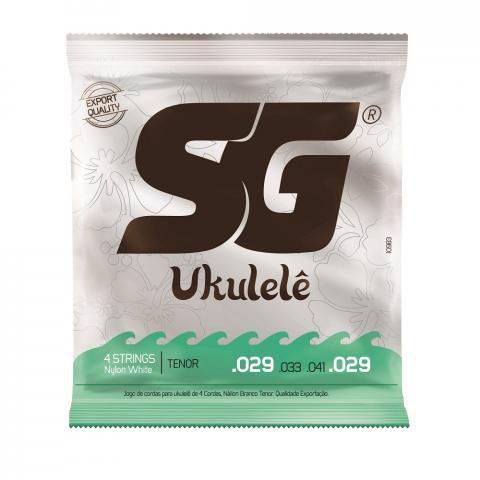 Encordoamento Ukulelê SG Tenor