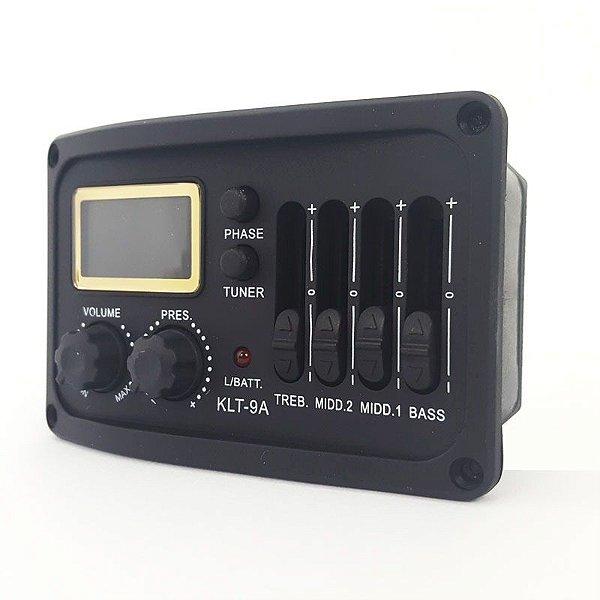 Pré-Amplificador Violão Hertz KLT-9A