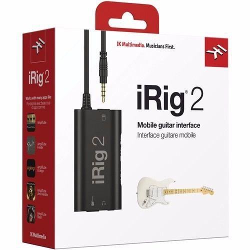 Interface iRig 2 para Guitarras e Baixos