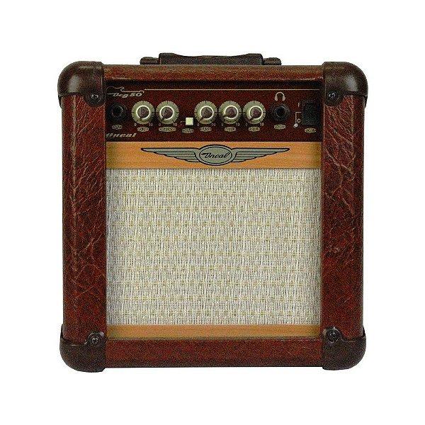 Amplificador Guitarra Oneal OCG50M 20W Marrom