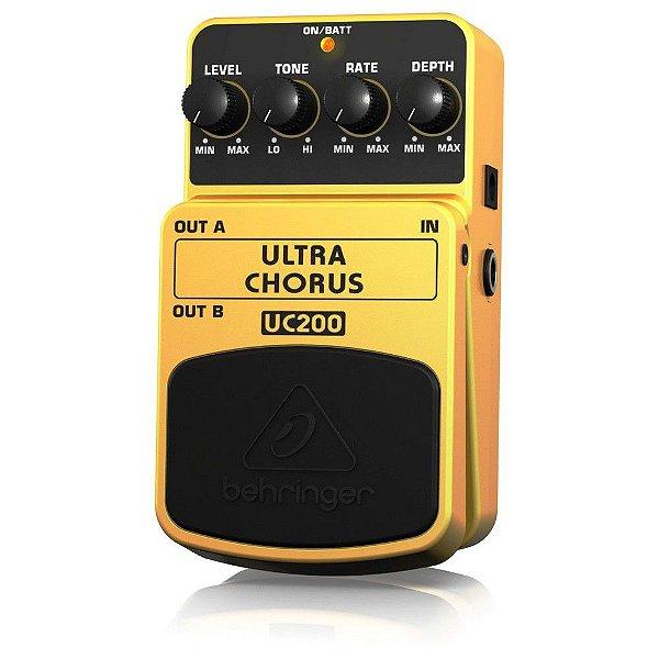 Pedal para Guitarra Behringer Ultra Chorus UC200