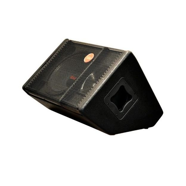 "Caixa de Retorno 12"" Amplificada Leacs PA1200 Plus 250W"