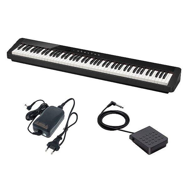Piano Digital 88 Teclas Casio Privia Px-S1000 BK 7/8