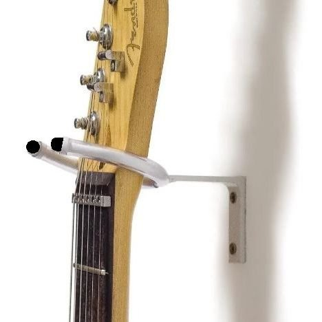 Suporte de Parede Ukulelê / Guitarra / Violão Zad Som SP10S Branco